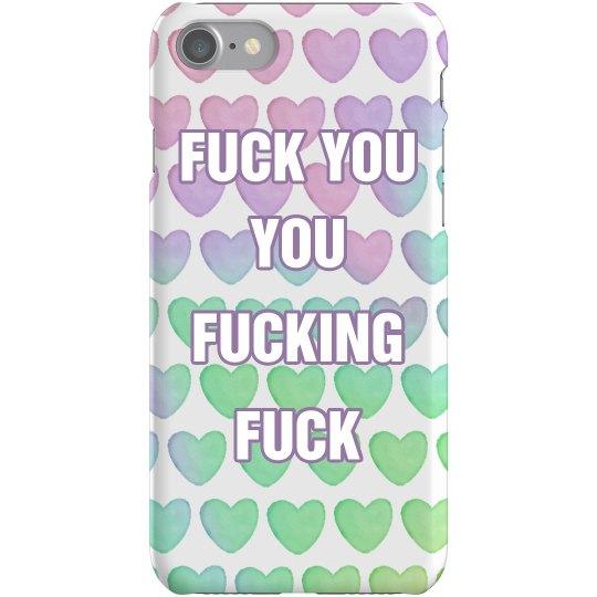 Fucking Fuck Pastel Phone Case