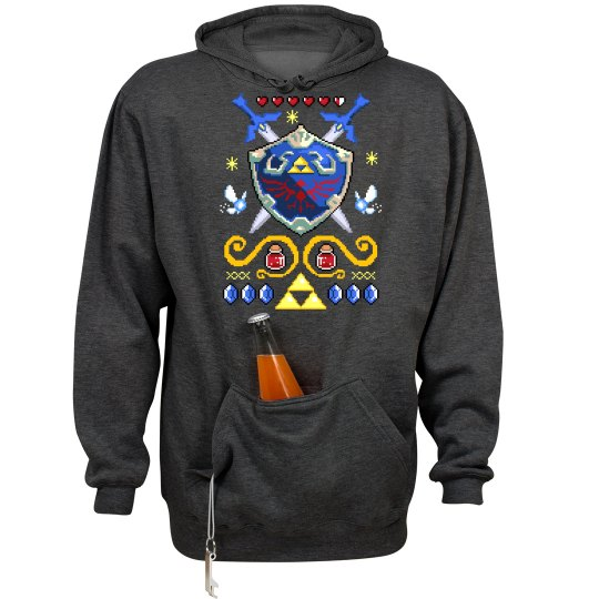 Fun Pixel Fantasy Sweater