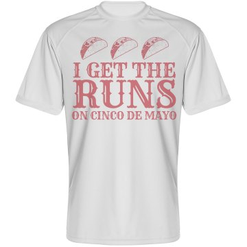 Funny Cinco Mayo Runner