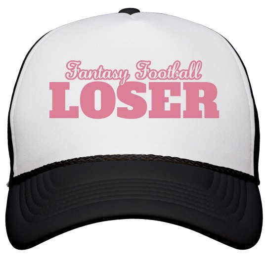 Funny Fantasy Football Loser Hat