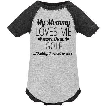 Funny Golf Baby Onesie