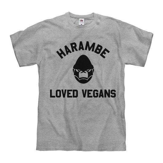 Funny Harambe Loved Vegans