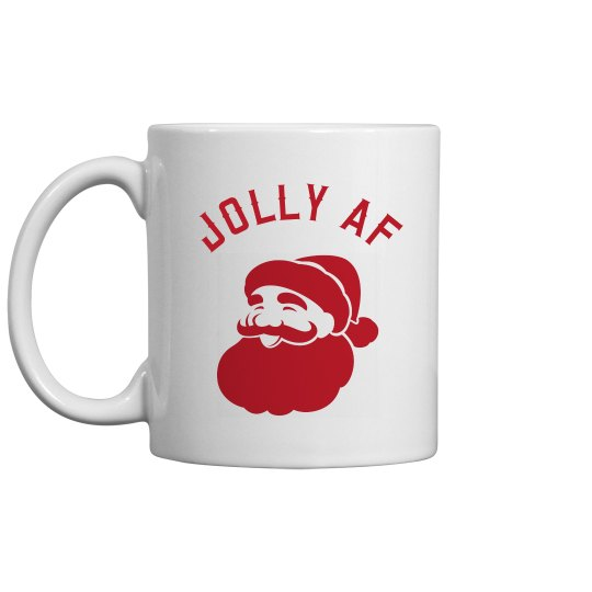 Funny Holiday I Am Jolly AF