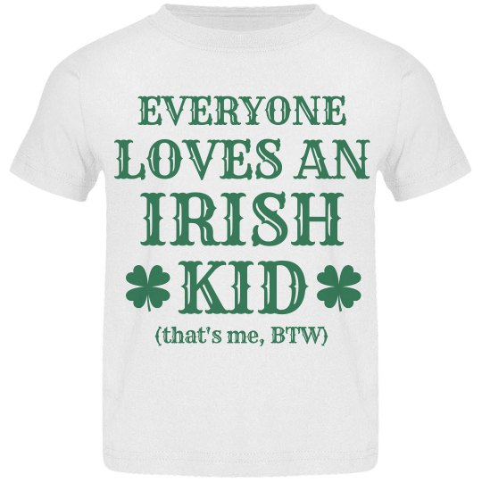 Funny Irish Kid on St Pattys Day