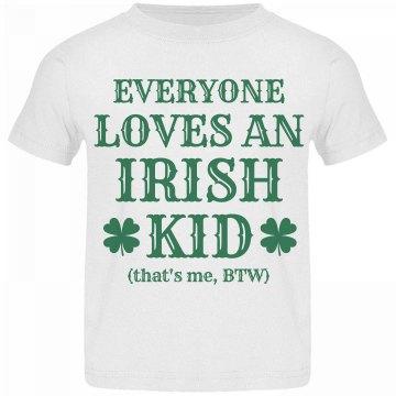 Funny Irish Kid on St Pattys Day