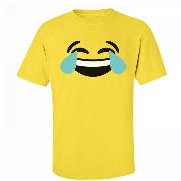 Funny Laughing Emoji Costume