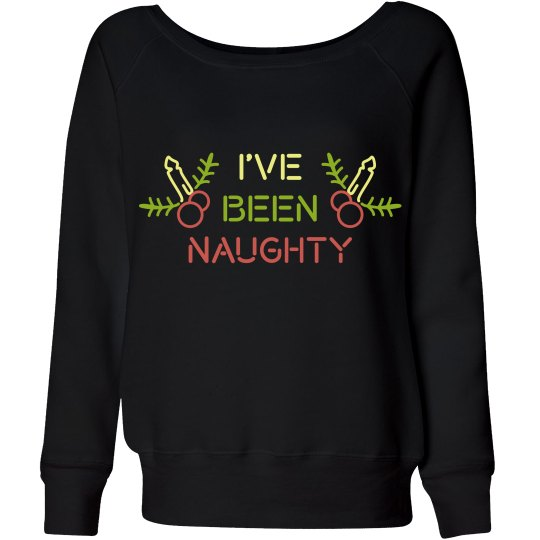 Funny Naughty Christmas Sweater