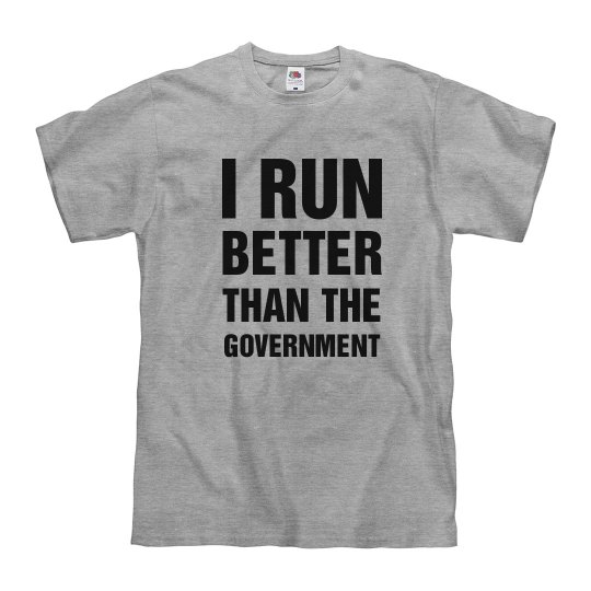 Funny Run Better Than Government