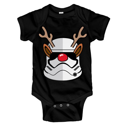 Funny Stormtrooper Christmas Baby