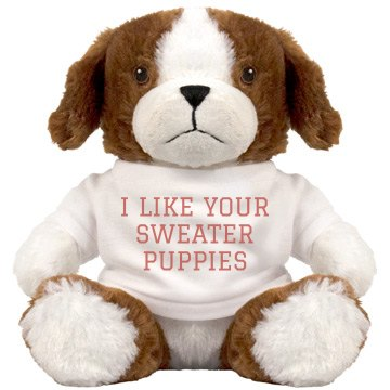 Funny Sweater Puppy