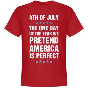 Funny We Pretend America Is Perfect