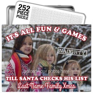 Funny Xmas Family Puzzle