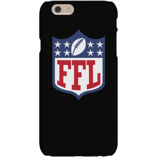 Gifts For Fantasy Football Fans FFL Logo Phone Case