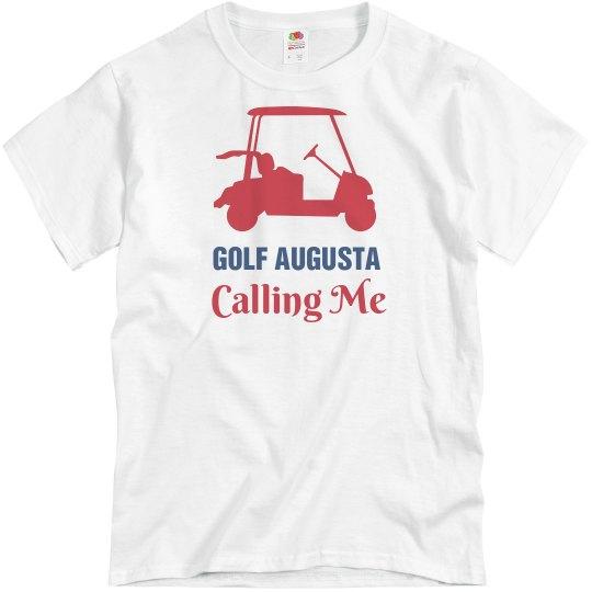 Golf Augusta Calling Me