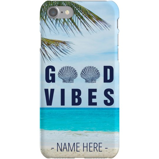 Good Vibes Ocean Phone Case