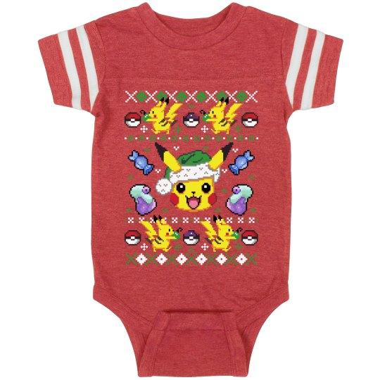 Gotta Catch Christmas Baby Bodysuit