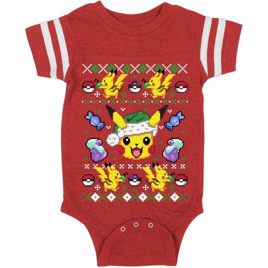 Gotta Catch Christmas Baby Onesie
