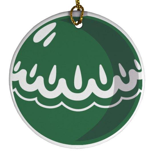 Green Ball Ornament