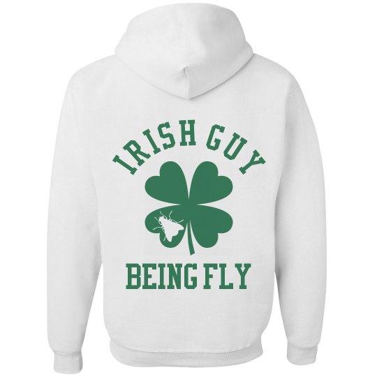 Green Irish Guy St Patricks Day