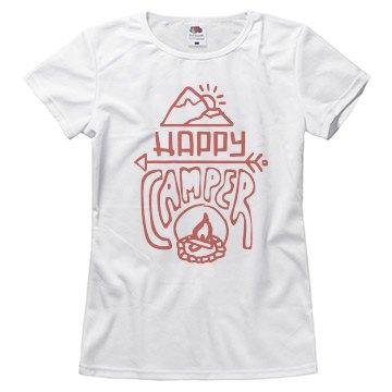 Happy Camper Trendy Tee