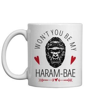 Haram Bae Valentine's Mug