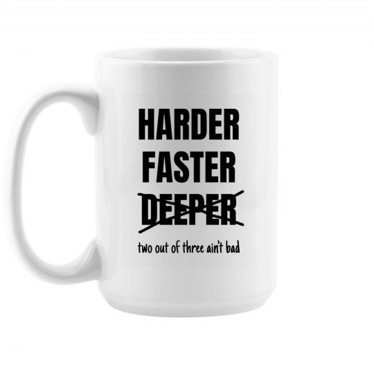 HARD and FAST mug