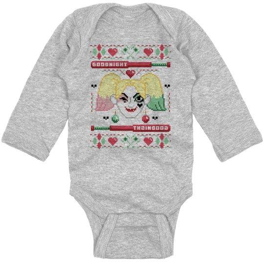 Harley Christmas Sweater Bodysuit