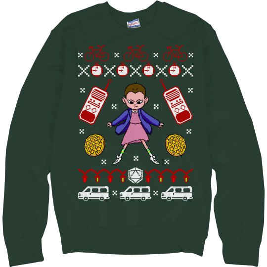 Hawkins Strange Ugly Sweater