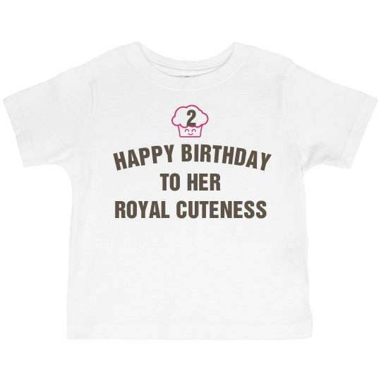 her royal cuteness is 2