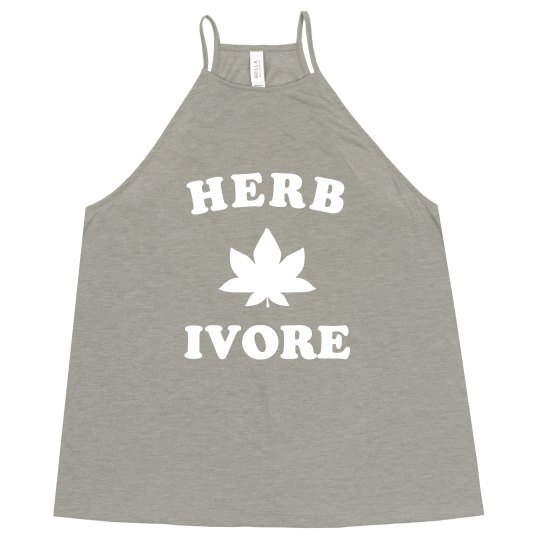 Herbivore Funny Trendy Tank
