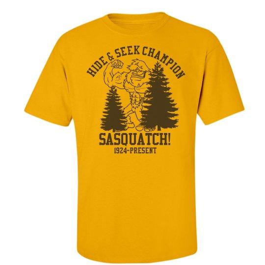 Hide and Seek Sasquatch