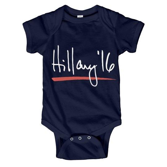 Hillary Clinton Baby Democrat