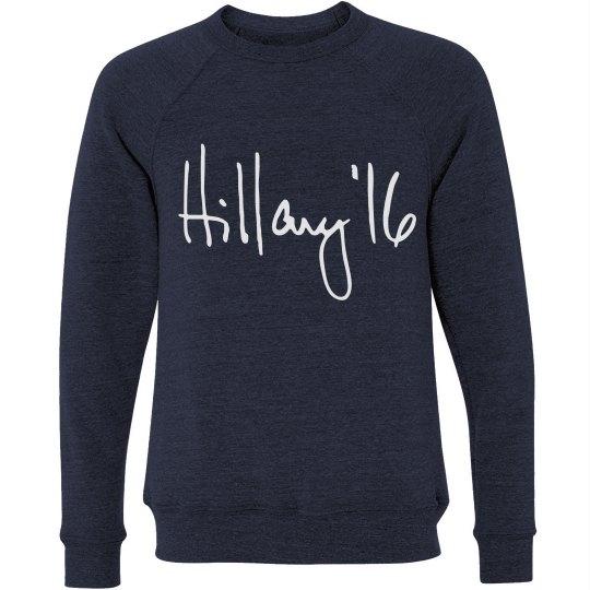 Hillary Clinton Blue Democrat