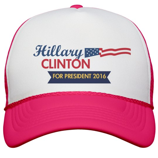 Hillary Clinton Trucker Hat