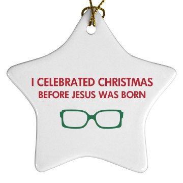 Hipster Ornament