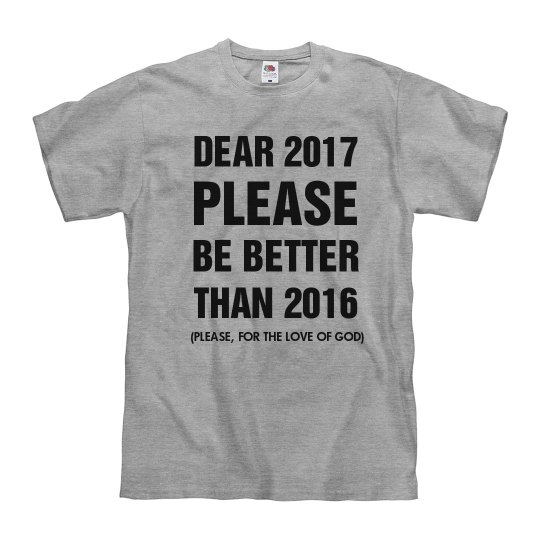 Hoping 2017 Be Better Than 2016