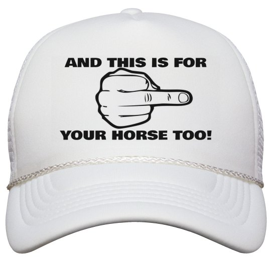 Horse Too Hat