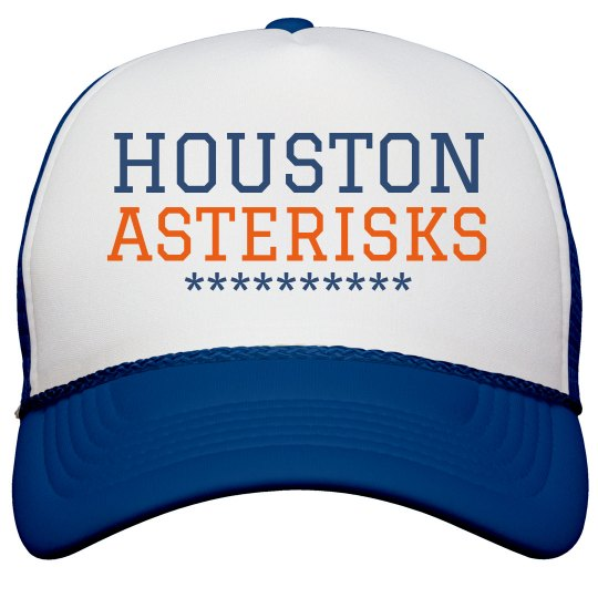 Houston Asterisks Baseball Cap