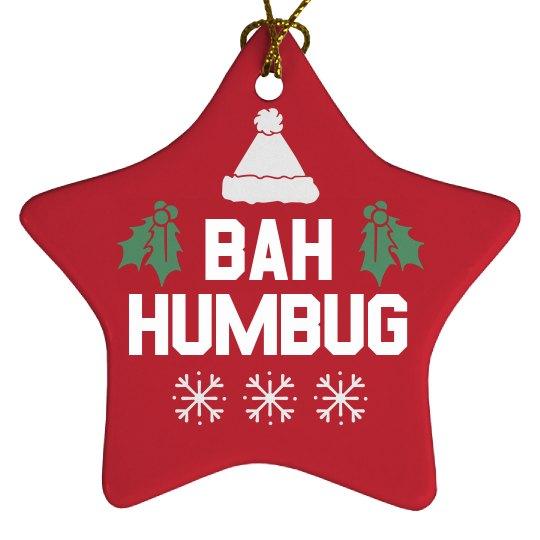 Humbug Xmas Ornament