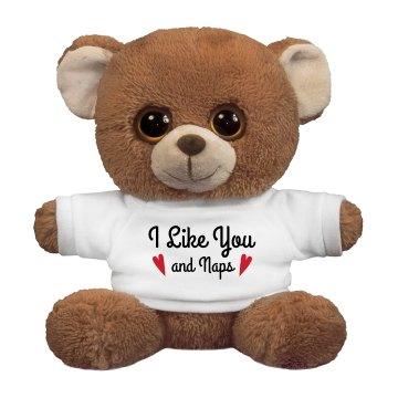 I Like Naps Plush Bear
