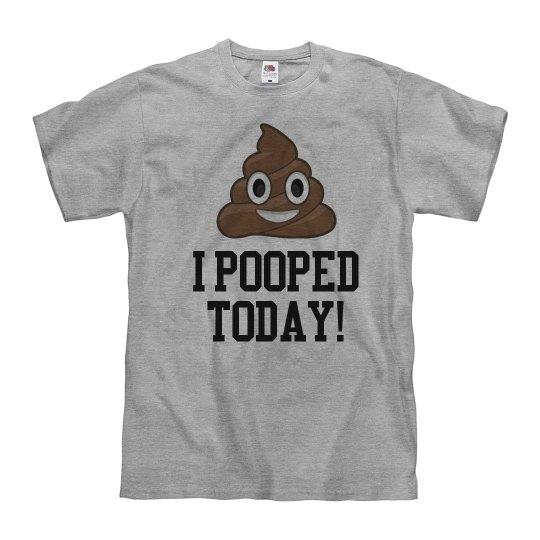 I Pooped Today Emoji