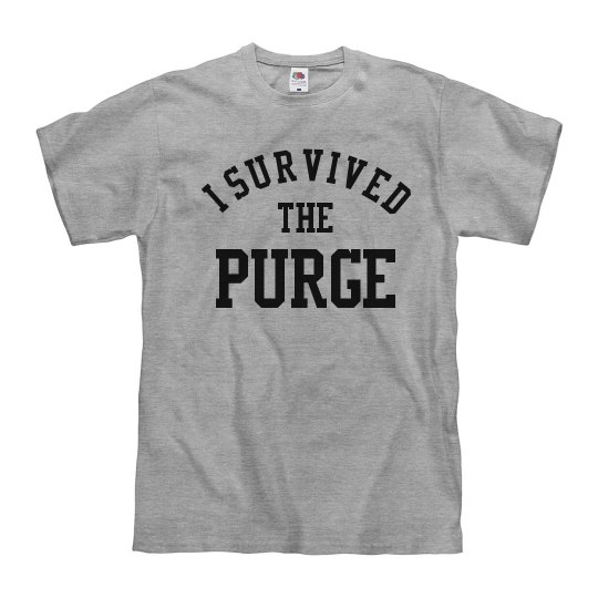 I Survived The Purge Costume