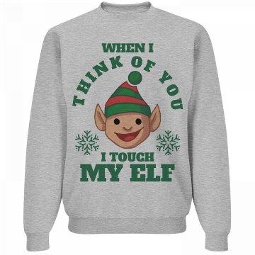 I Touch My Elf on Xmas