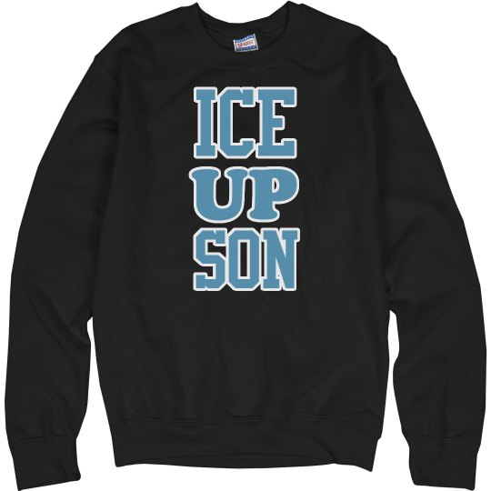Ice Up Son on Black
