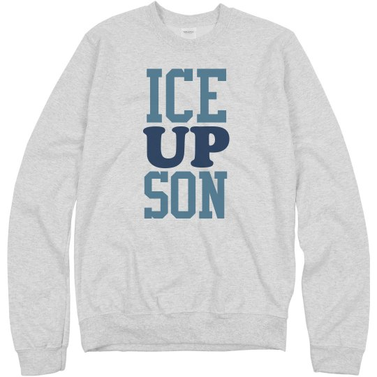 Ice Up Son on Gray