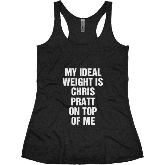 Ideal Weight Chris Pratt
