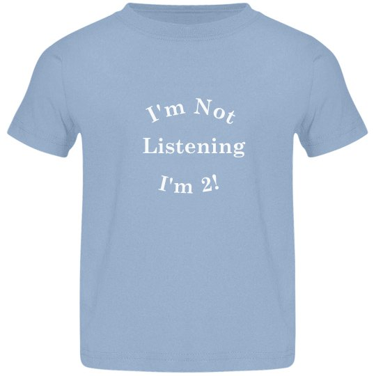 I'm 2 Toddler Shirt