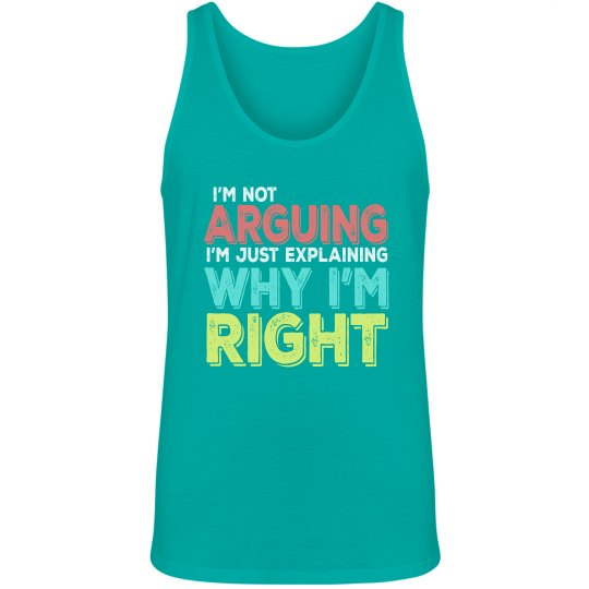 I'm Right Unisex Jersey Tank Top