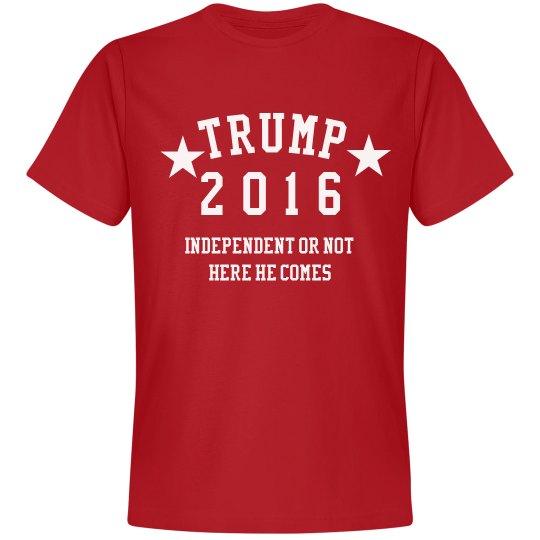Independent Donald Trump