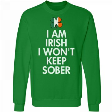 Irish And Never Sober